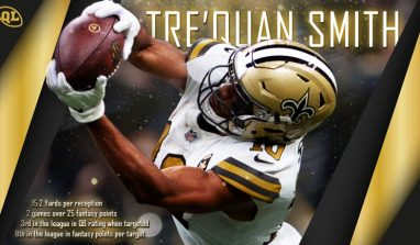 Going Deep: How Tre'Quan Smith Could Demolish Expectations in 2019 and Beyond
